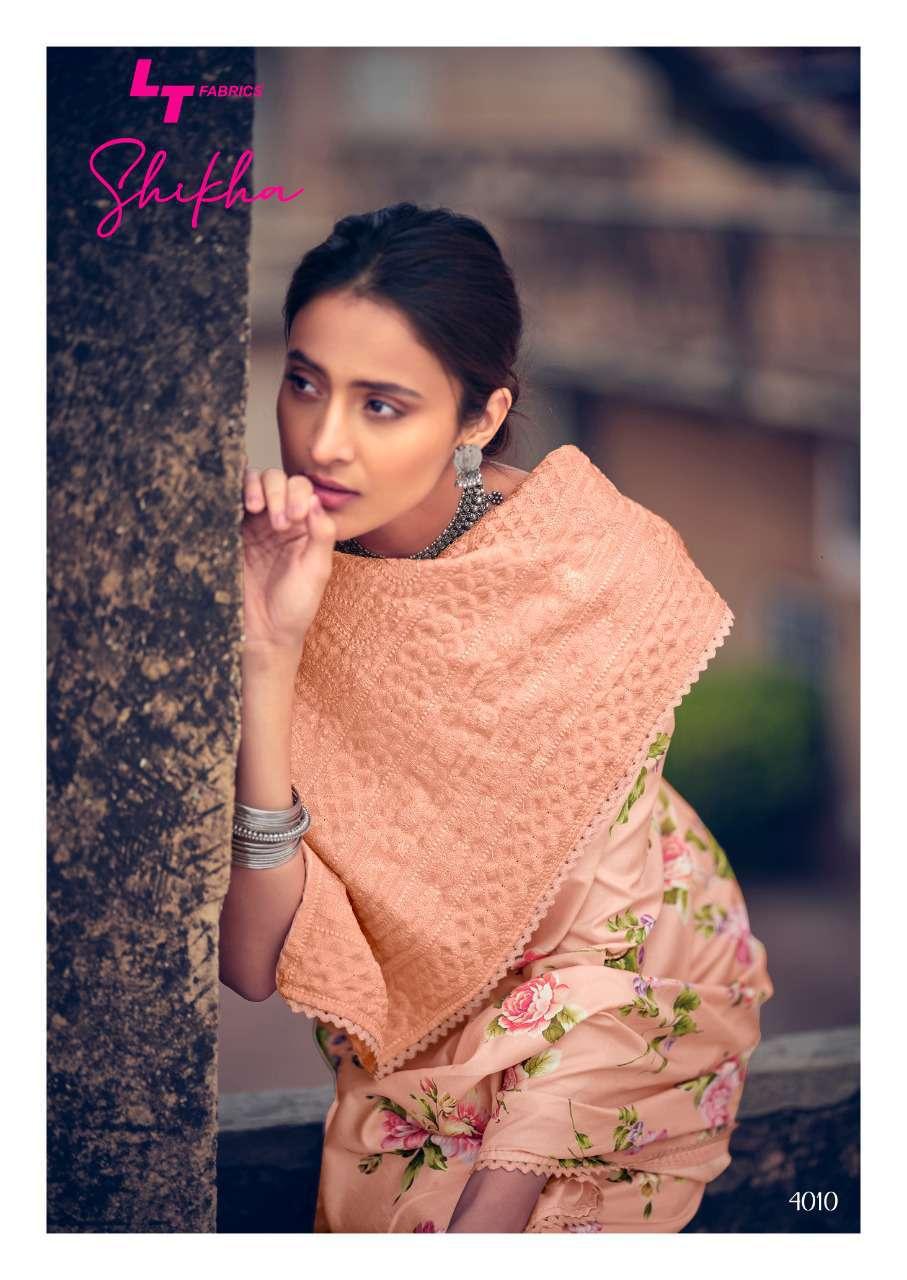 Kashvi Shikha by Lt Fabrics Saree Sari Wholesale Catalog 10 Pcs 22 - Kashvi Shikha by Lt Fabrics Saree Sari Wholesale Catalog 10 Pcs