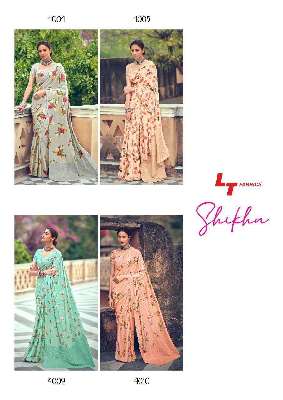 Kashvi Shikha by Lt Fabrics Saree Sari Wholesale Catalog 10 Pcs 24 - Kashvi Shikha by Lt Fabrics Saree Sari Wholesale Catalog 10 Pcs