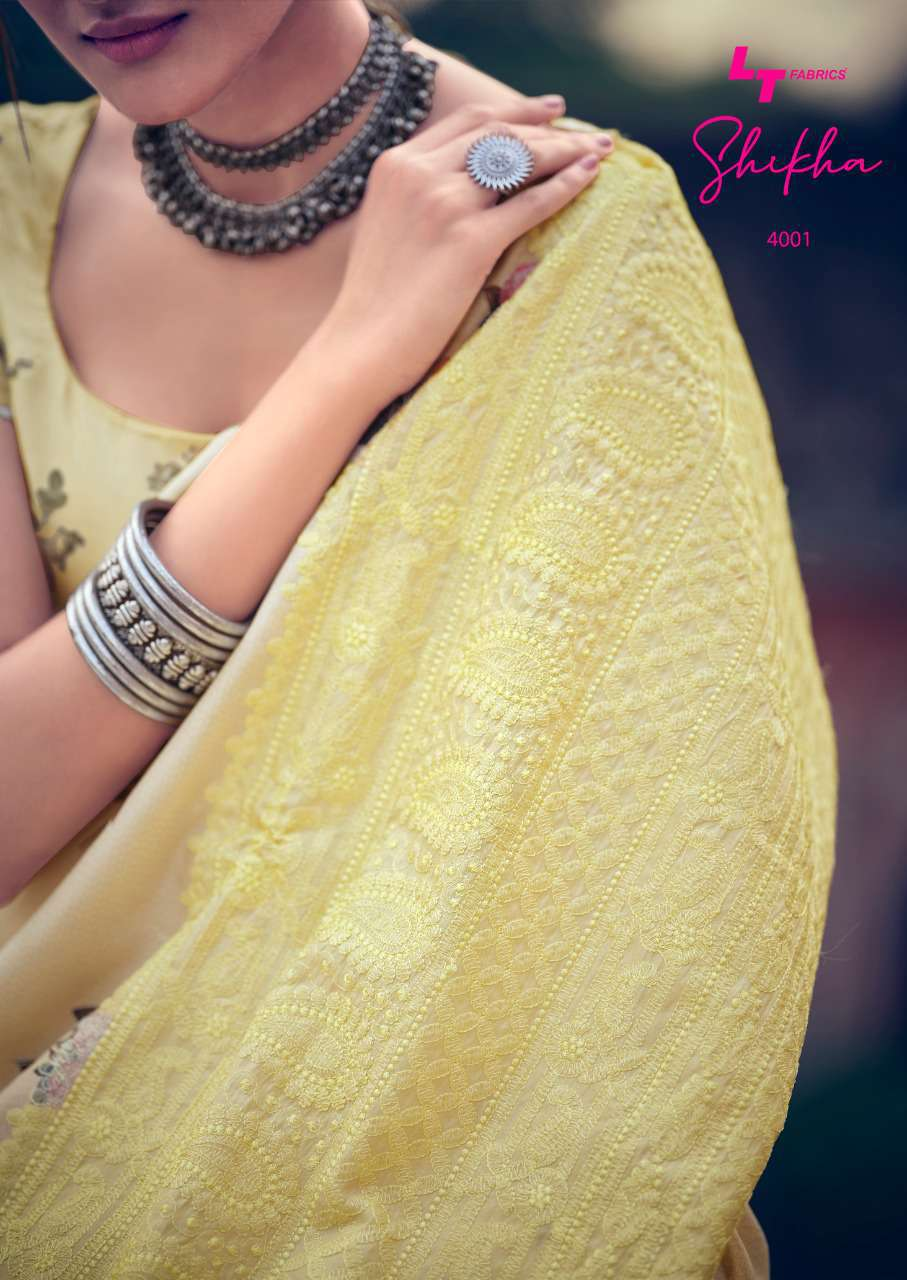 Kashvi Shikha by Lt Fabrics Saree Sari Wholesale Catalog 10 Pcs 3 - Kashvi Shikha by Lt Fabrics Saree Sari Wholesale Catalog 10 Pcs