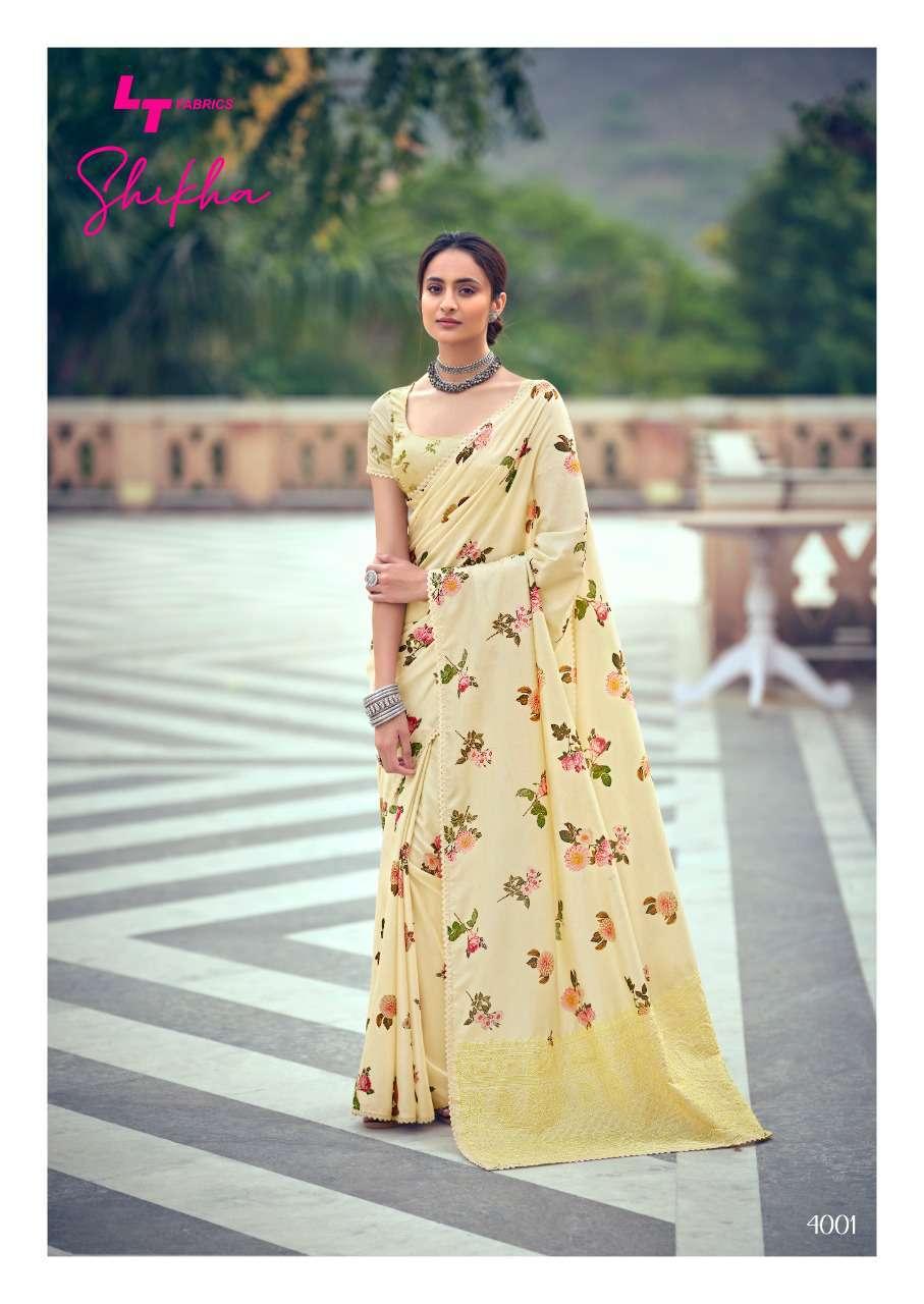 Kashvi Shikha by Lt Fabrics Saree Sari Wholesale Catalog 10 Pcs 4 - Kashvi Shikha by Lt Fabrics Saree Sari Wholesale Catalog 10 Pcs