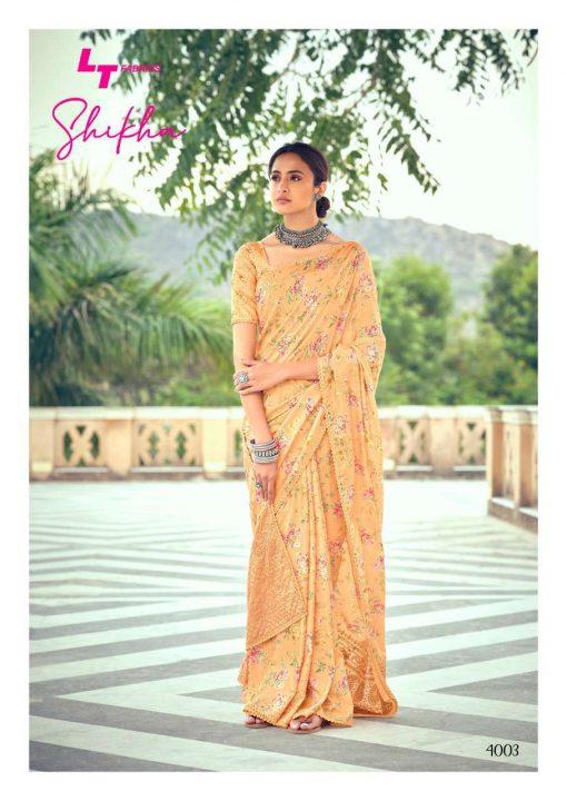 Kashvi Shikha by Lt Fabrics Saree Sari Wholesale Catalog 10 Pcs 5 510x720 - Kashvi Shikha by Lt Fabrics Saree Sari Wholesale Catalog 10 Pcs