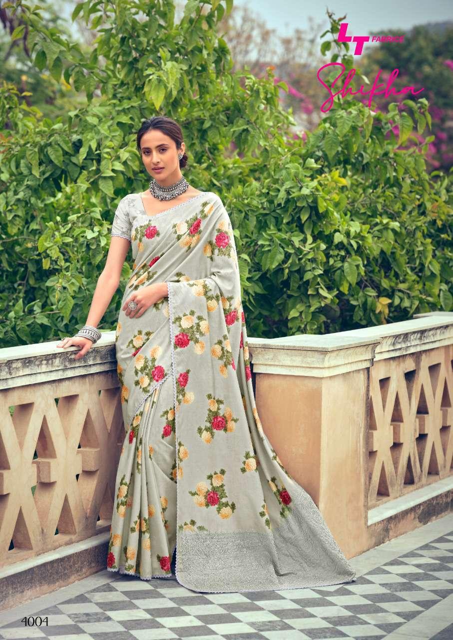 Kashvi Shikha by Lt Fabrics Saree Sari Wholesale Catalog 10 Pcs 8 - Kashvi Shikha by Lt Fabrics Saree Sari Wholesale Catalog 10 Pcs