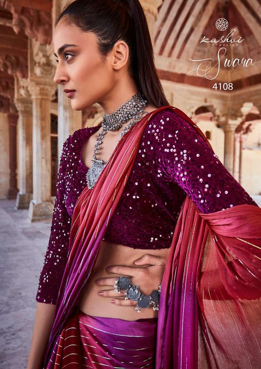 Kashvi Swara by Lt Fabrics Saree Sari Wholesale Catalog 10 Pcs 15 - Kashvi Swara by Lt Fabrics Saree Sari Wholesale Catalog 9 Pcs