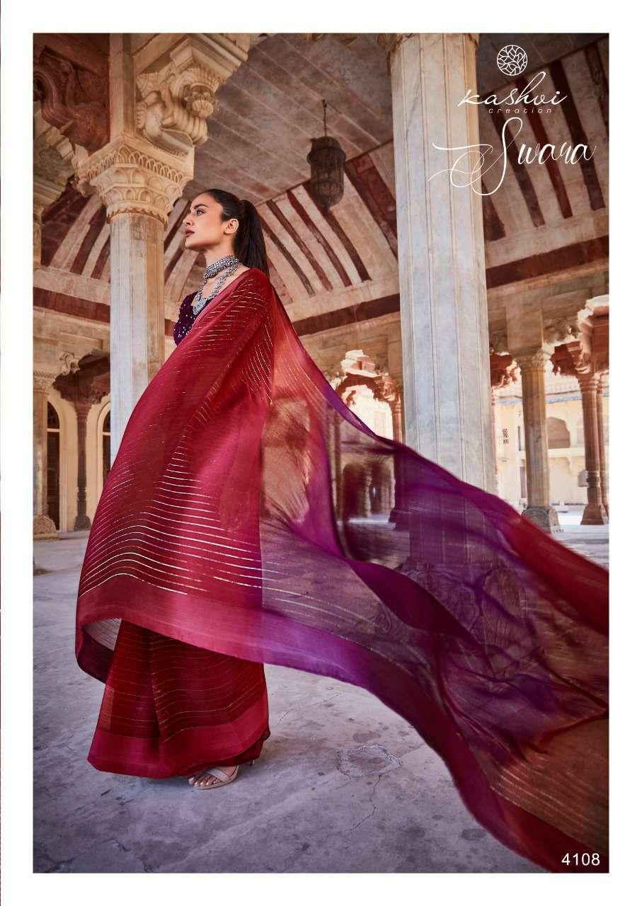 Kashvi Swara by Lt Fabrics Saree Sari Wholesale Catalog 10 Pcs 18 - Kashvi Swara by Lt Fabrics Saree Sari Wholesale Catalog 9 Pcs