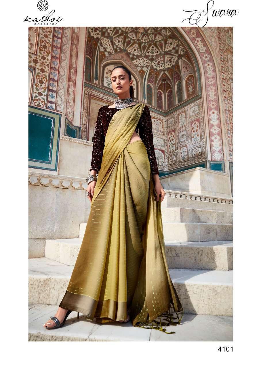 Kashvi Swara by Lt Fabrics Saree Sari Wholesale Catalog 10 Pcs 2 - Kashvi Swara by Lt Fabrics Saree Sari Wholesale Catalog 9 Pcs