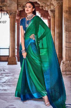 Kashvi Swara by Lt Fabrics Saree Sari Wholesale Catalog 10 Pcs