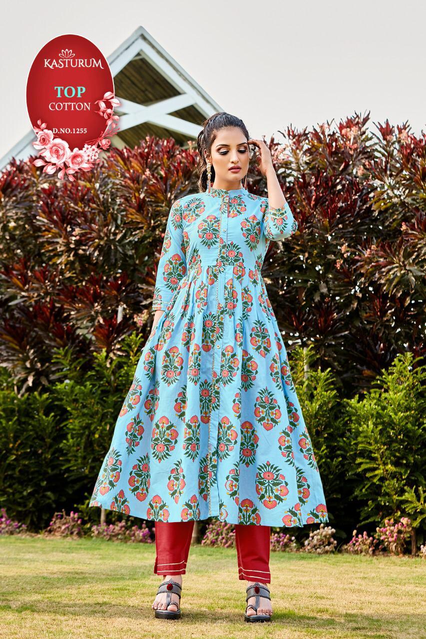 Kasturam Vol 4 by Kajal Style Kurti Wholesale Catalog 7 Pcs 7 - Kasturam Vol 4 by Kajal Style Kurti Wholesale Catalog 7 Pcs