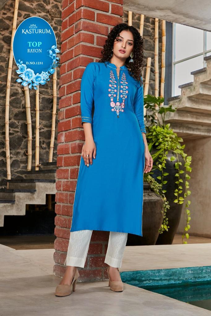 Kasturam Vol 5 by Kajal Style Kurti Wholesale Catalog 8 Pcs 8 - Kasturam Vol 5 by Kajal Style Kurti Wholesale Catalog 8 Pcs
