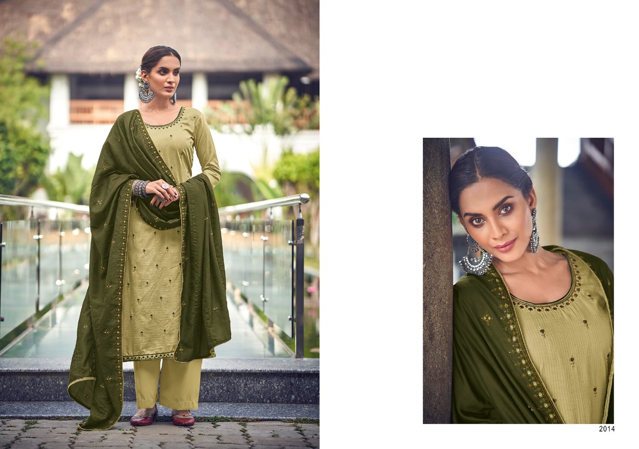 Kayce Kasmeera Summer Leaf Salwar Suit Wholesale Catalog 8 Pcs 11 - Kayce Kasmeera Summer Leaf Salwar Suit Wholesale Catalog 8 Pcs