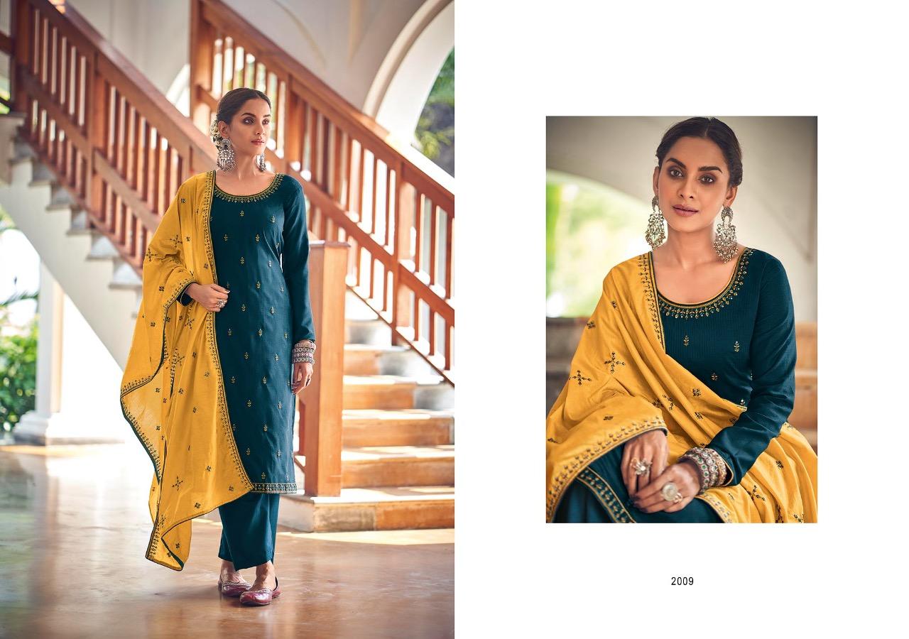 Kayce Kasmeera Summer Leaf Salwar Suit Wholesale Catalog 8 Pcs 6 - Kayce Kasmeera Summer Leaf Salwar Suit Wholesale Catalog 8 Pcs