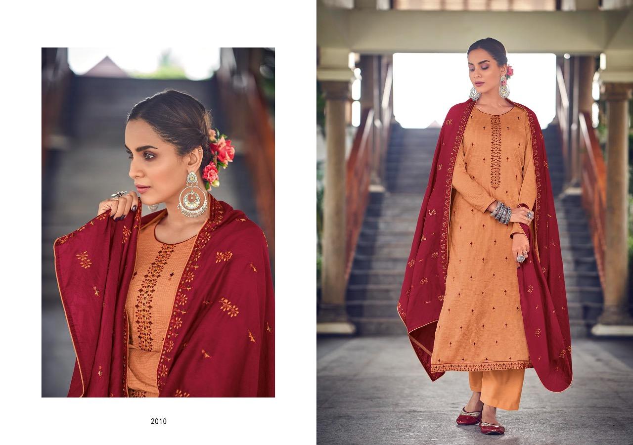 Kayce Kasmeera Summer Leaf Salwar Suit Wholesale Catalog 8 Pcs 8 - Kayce Kasmeera Summer Leaf Salwar Suit Wholesale Catalog 8 Pcs