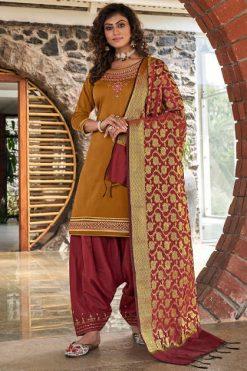 Kessi Silk by Patiala Vol 4 Salwar Suit Wholesale Catalog 8 Pcs