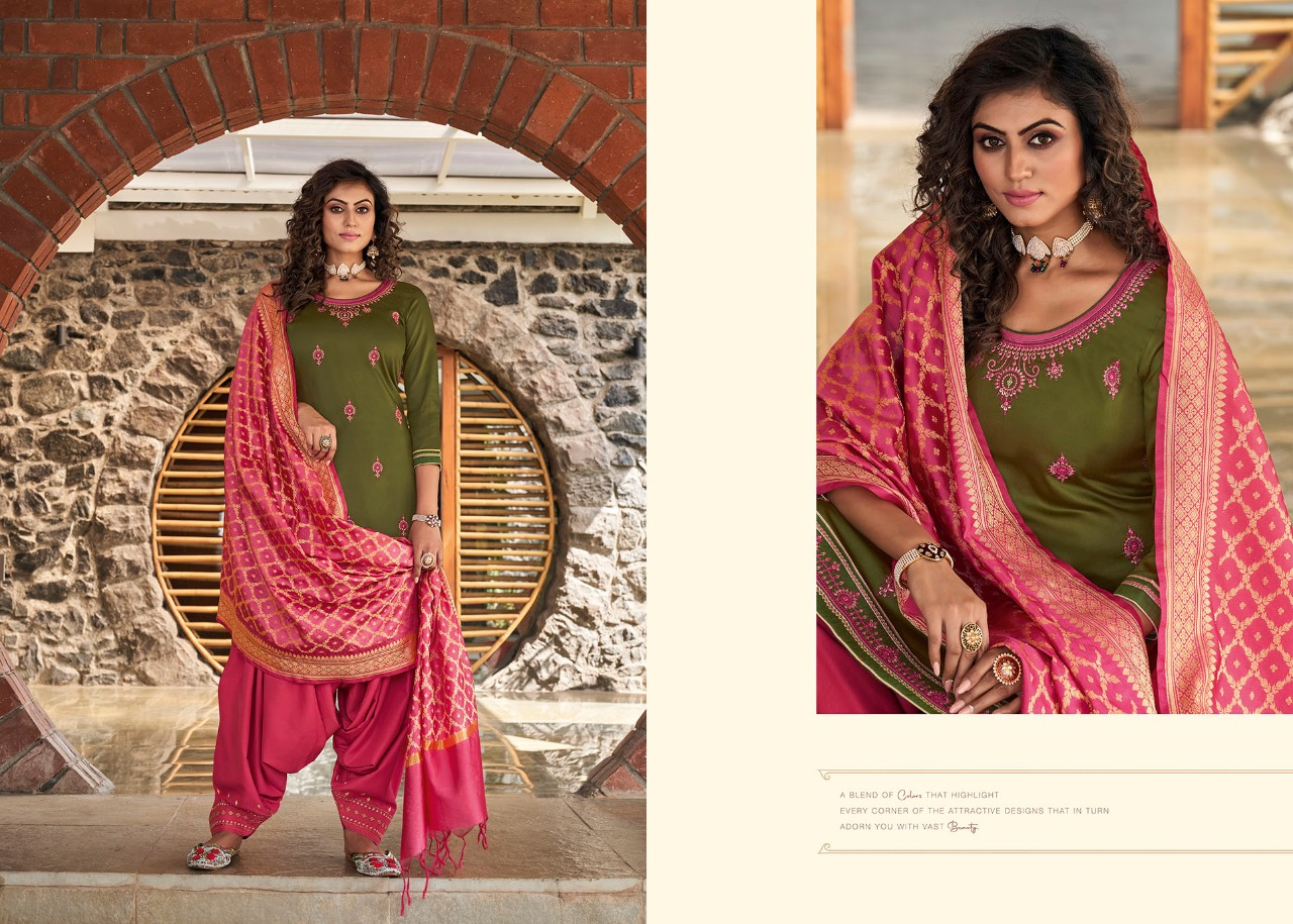 Kessi Silk by Patiala Vol 4 Salwar Suit Wholesale Catalog 8 Pcs 4 - Kessi Silk by Patiala Vol 4 Salwar Suit Wholesale Catalog 8 Pcs