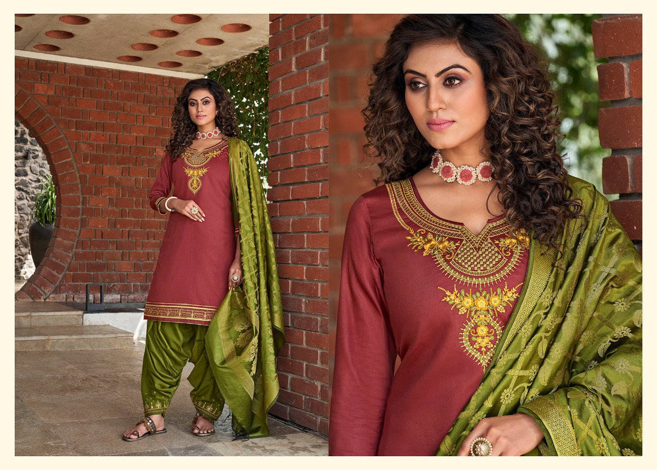 Kessi Silk by Patiala Vol 4 Salwar Suit Wholesale Catalog 8 Pcs 5 - Kessi Silk by Patiala Vol 4 Salwar Suit Wholesale Catalog 8 Pcs