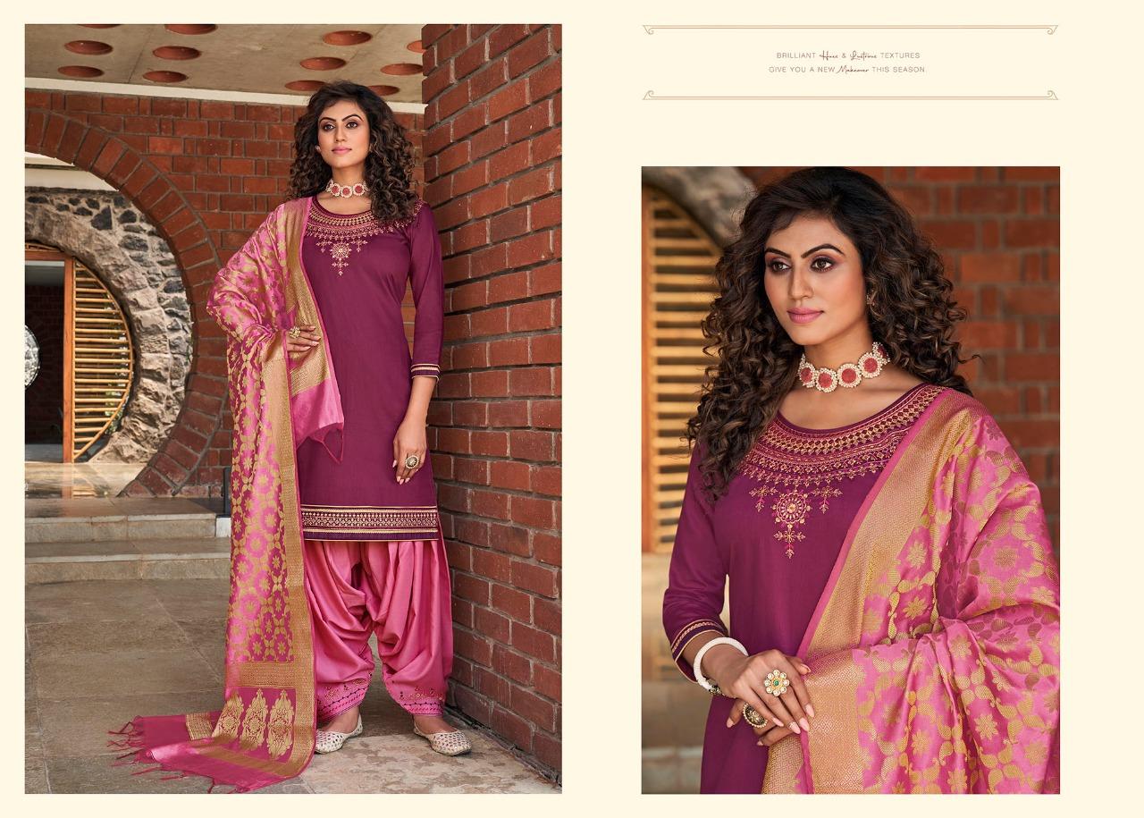 Kessi Silk by Patiala Vol 4 Salwar Suit Wholesale Catalog 8 Pcs 9 - Kessi Silk by Patiala Vol 4 Salwar Suit Wholesale Catalog 8 Pcs
