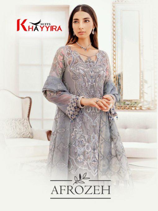 Khayyira Afrozeh Salwar Suit Wholesale Catalog 3 Pcs 1 510x680 - Khayyira Afrozeh Salwar Suit Wholesale Catalog 3 Pcs