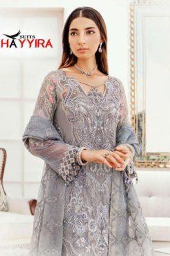 Khayyira Afrozeh Salwar Suit Wholesale Catalog 3 Pcs