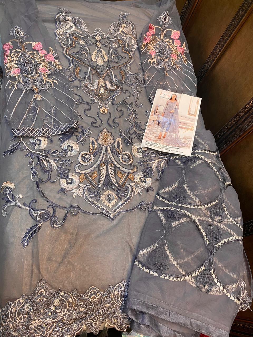 Khayyira Afrozeh Salwar Suit Wholesale Catalog 3 Pcs 6 - Khayyira Afrozeh Salwar Suit Wholesale Catalog 3 Pcs