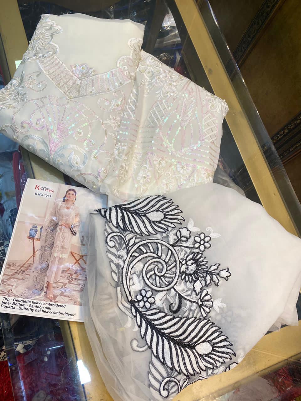 Khayyira Afrozeh Salwar Suit Wholesale Catalog 3 Pcs 9 - Khayyira Afrozeh Salwar Suit Wholesale Catalog 3 Pcs