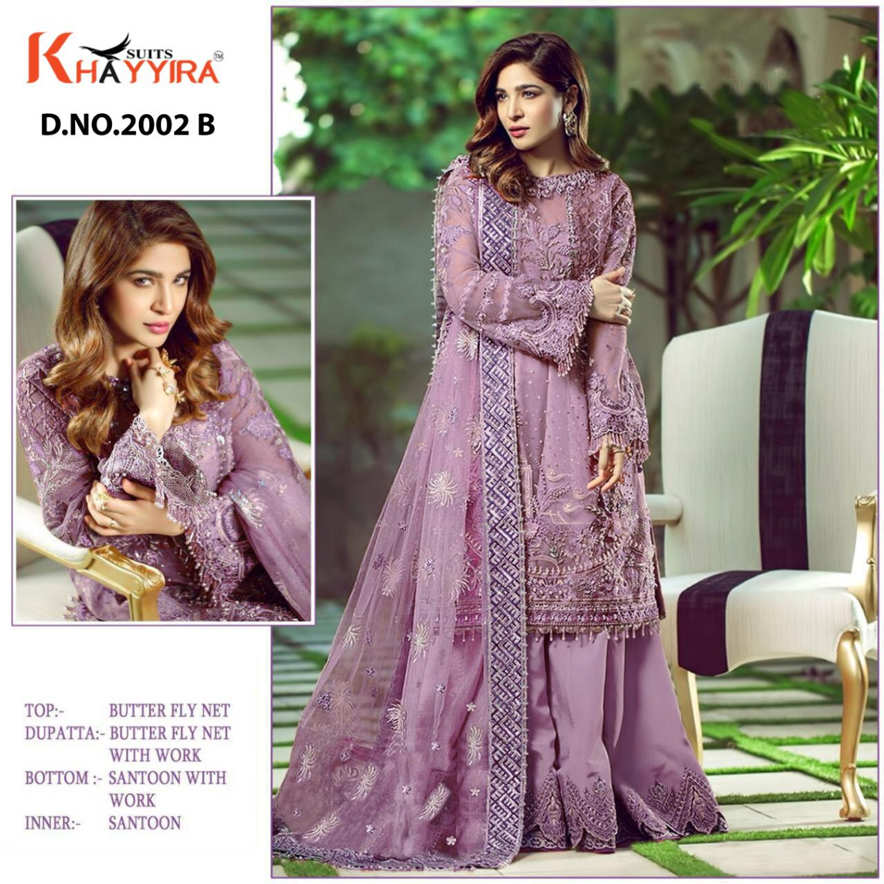 Khayyira Charizma DN 2002 Salwar Suit Wholesale Catalog 4 Pcs 2 - Khayyira Charizma DN 2002 Salwar Suit Wholesale Catalog 4 Pcs