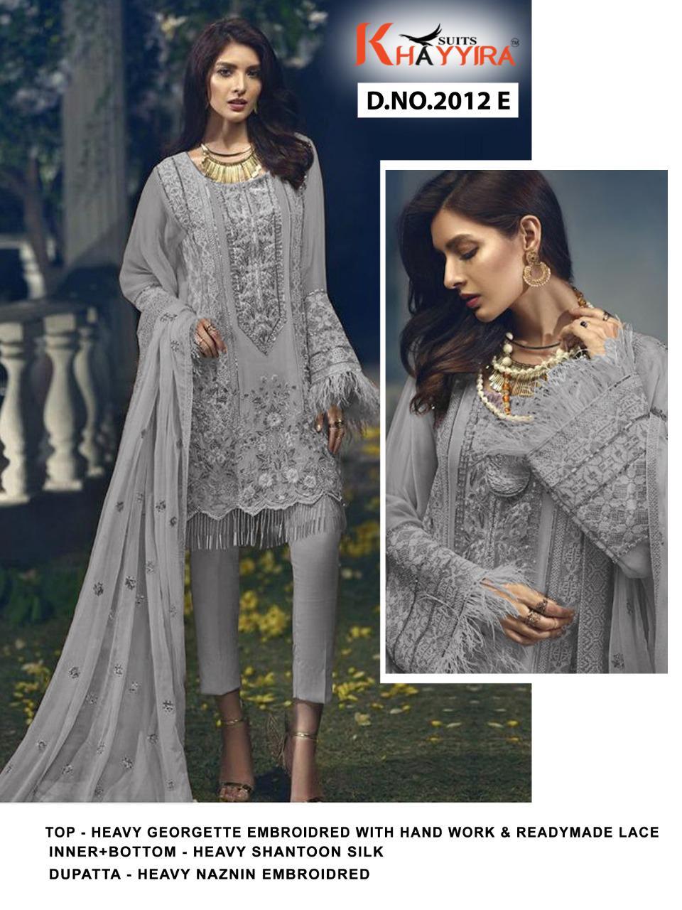 Khayyira Cross Stitch Salwar Suit Wholesale Catalog 8 Pcs 4 - Khayyira Cross Stitch Salwar Suit Wholesale Catalog 8 Pcs