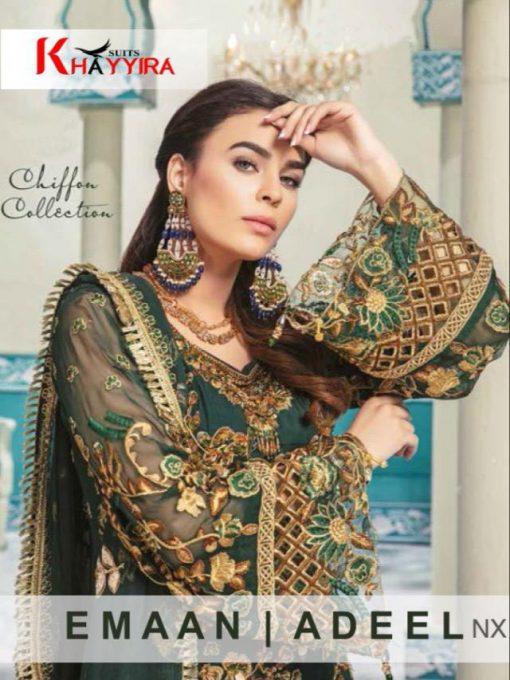 Khayyira Emaan Adeel Nx Salwar Suit Wholesale Catalog 3 Pcs 1 510x680 - Khayyira Emaan Adeel Nx Salwar Suit Wholesale Catalog 3 Pcs