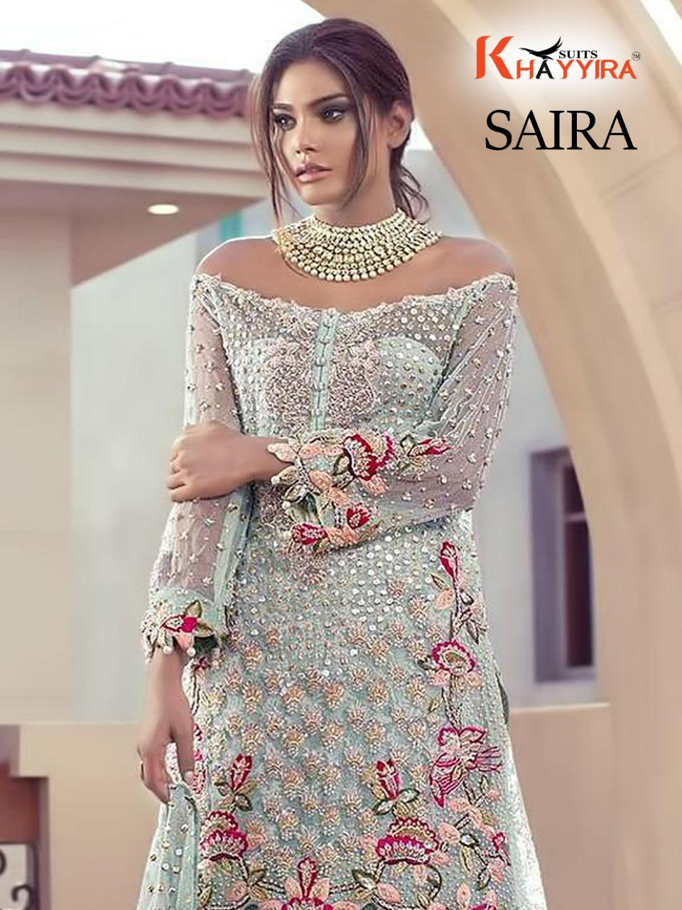 Khayyira Saira D No 1090 Salwar Suit Wholesale Catalog 4 Pcs 5 - Khayyira Saira D No 1090 Salwar Suit Wholesale Catalog 4 Pcs