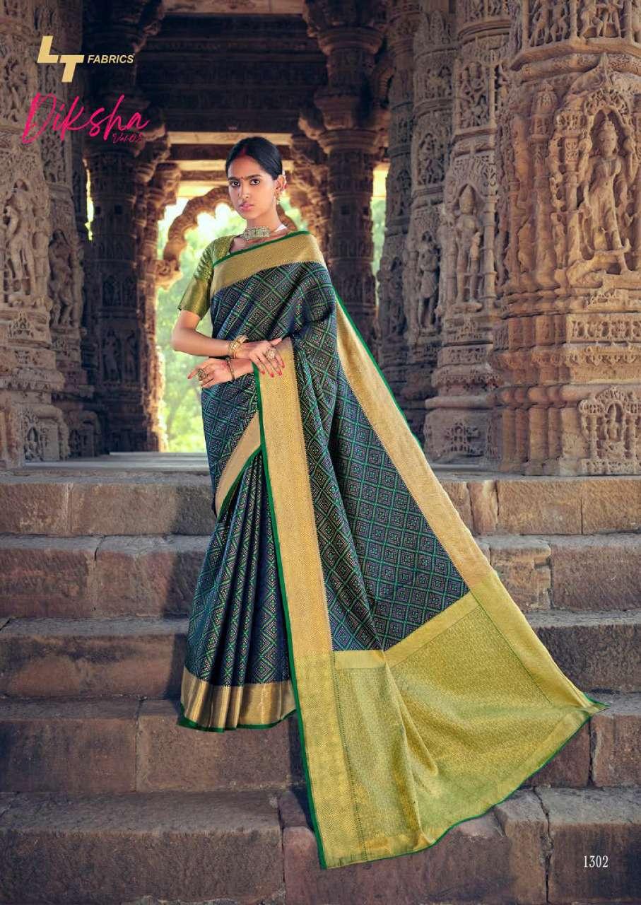 Lt Fabrics Diksha Vol 2 Saree Sari Wholesale Catalog 5 Pcs 11 - Lt Fabrics Diksha Vol 2 Saree Sari Wholesale Catalog 5 Pcs