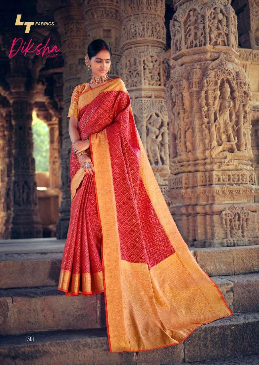 Lt Fabrics Diksha Vol 2 Saree Sari Wholesale Catalog 5 Pcs 3 - Lt Fabrics Diksha Vol 2 Saree Sari Wholesale Catalog 5 Pcs