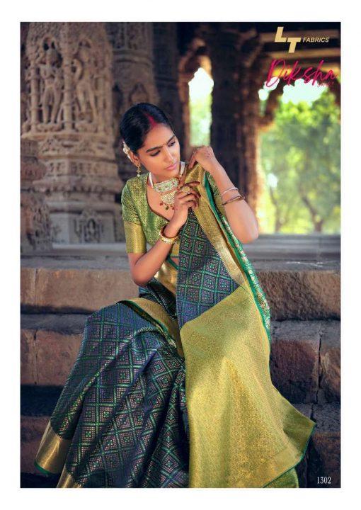 Lt Fabrics Diksha Vol 2 Saree Sari Wholesale Catalog 5 Pcs 4 510x720 - Lt Fabrics Diksha Vol 2 Saree Sari Wholesale Catalog 5 Pcs