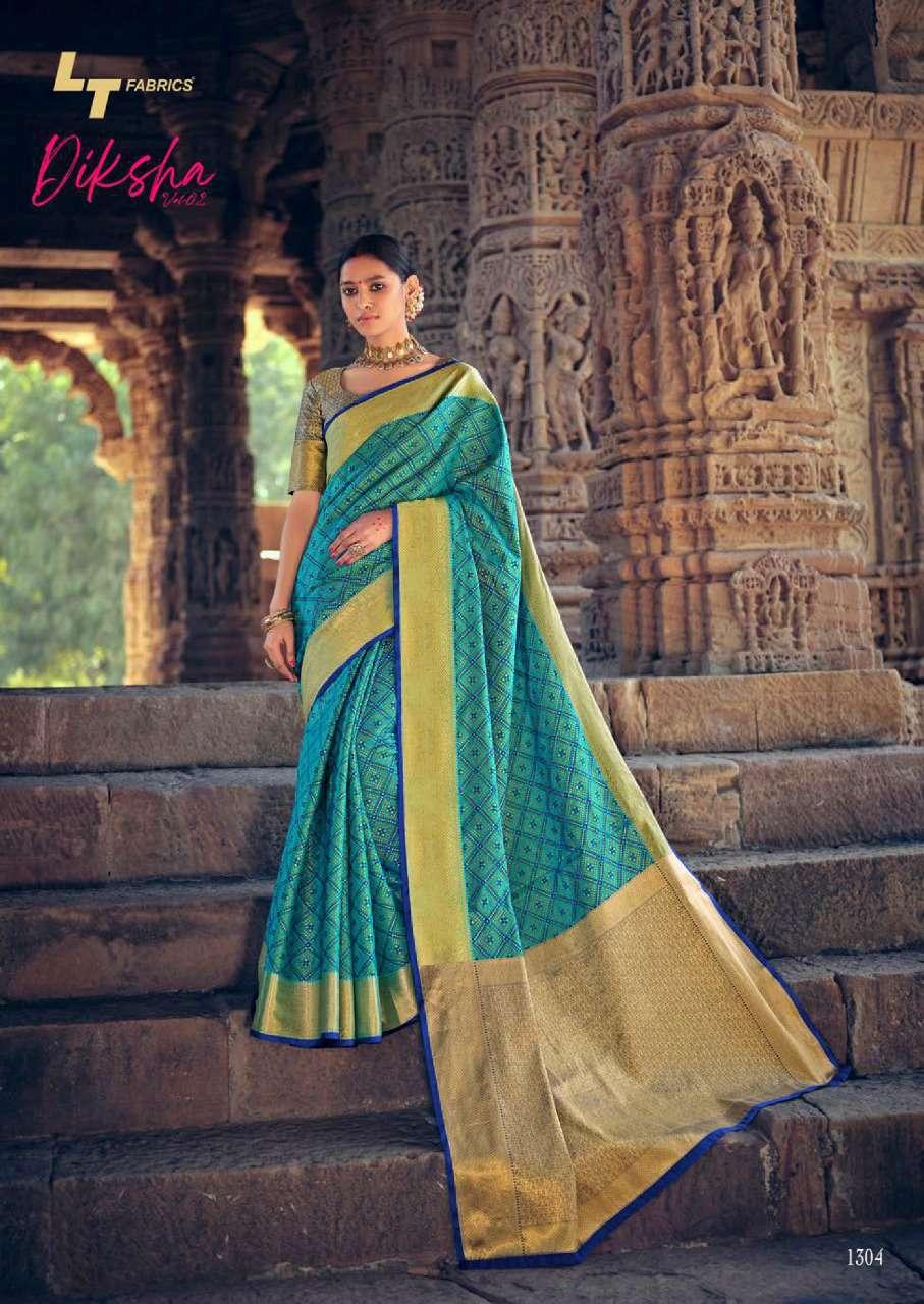 Lt Fabrics Diksha Vol 2 Saree Sari Wholesale Catalog 5 Pcs 6 - Lt Fabrics Diksha Vol 2 Saree Sari Wholesale Catalog 5 Pcs