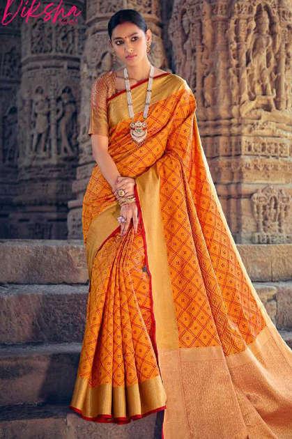 Lt Fabrics Diksha Vol 2 Saree Sari Wholesale Catalog 5 Pcs