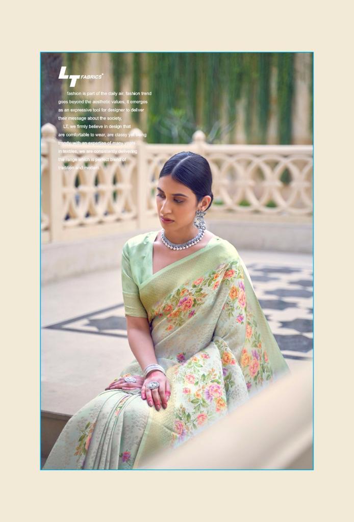 Lt Fabrics Sunehri Saree Sari Wholesale Catalog 10 Pcs 1 - Lt Fabrics Sunehri Saree Sari Wholesale Catalog 10 Pcs