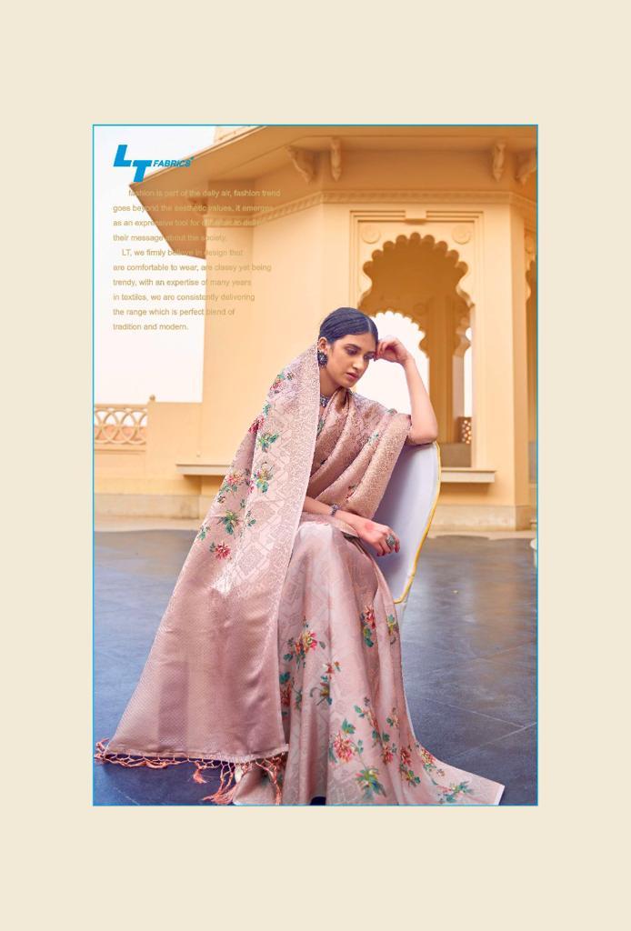 Lt Fabrics Sunehri Saree Sari Wholesale Catalog 10 Pcs 11 - Lt Fabrics Sunehri Saree Sari Wholesale Catalog 10 Pcs