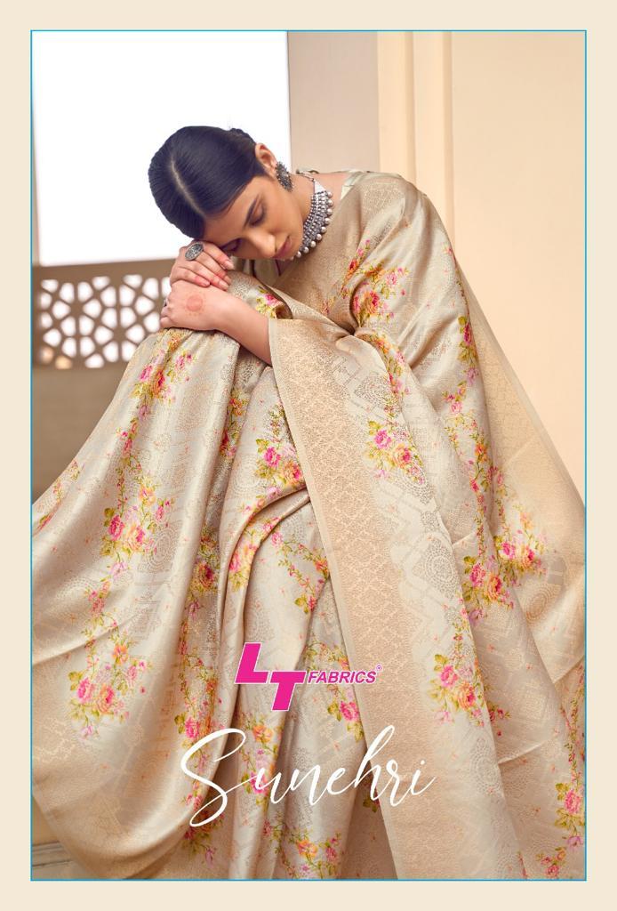 Lt Fabrics Sunehri Saree Sari Wholesale Catalog 10 Pcs 12 - Lt Fabrics Sunehri Saree Sari Wholesale Catalog 10 Pcs