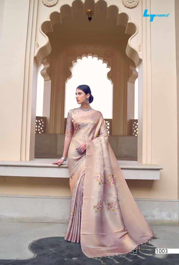 Lt Fabrics Sunehri Saree Sari Wholesale Catalog 10 Pcs 13 - Lt Fabrics Sunehri Saree Sari Wholesale Catalog 10 Pcs