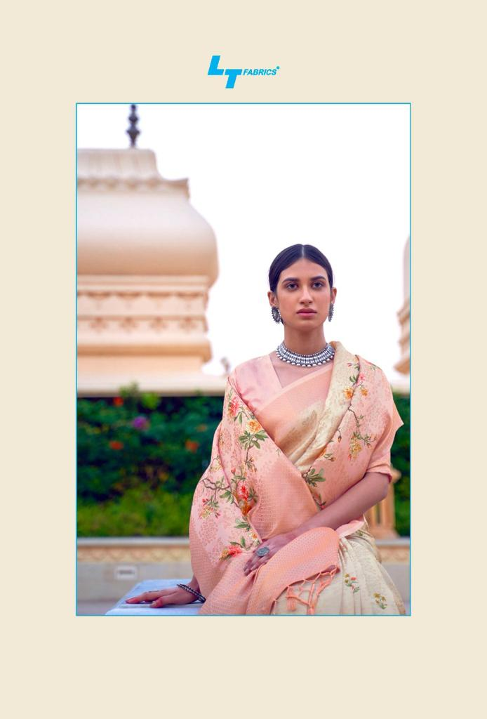 Lt Fabrics Sunehri Saree Sari Wholesale Catalog 10 Pcs 14 - Lt Fabrics Sunehri Saree Sari Wholesale Catalog 10 Pcs