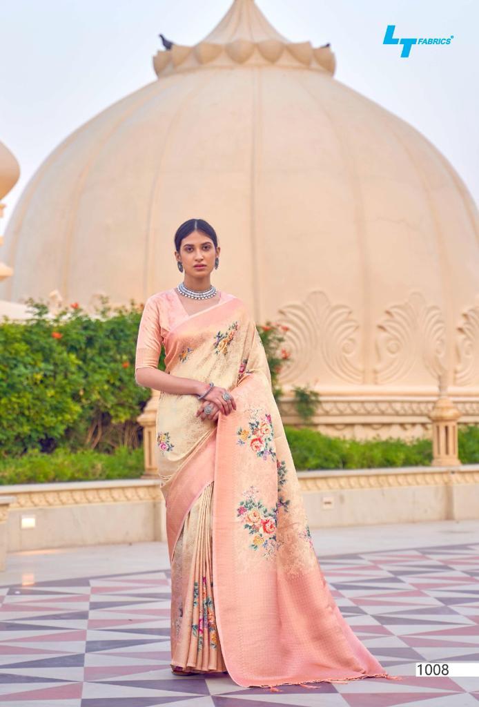 Lt Fabrics Sunehri Saree Sari Wholesale Catalog 10 Pcs 15 - Lt Fabrics Sunehri Saree Sari Wholesale Catalog 10 Pcs