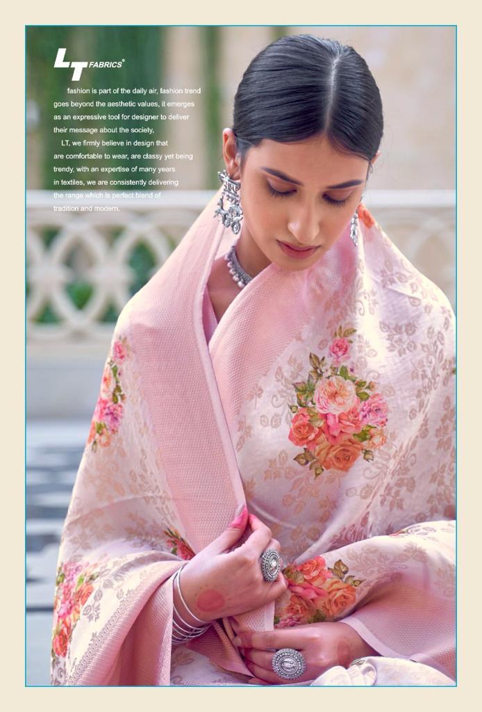 Lt Fabrics Sunehri Saree Sari Wholesale Catalog 10 Pcs 16 - Lt Fabrics Sunehri Saree Sari Wholesale Catalog 10 Pcs