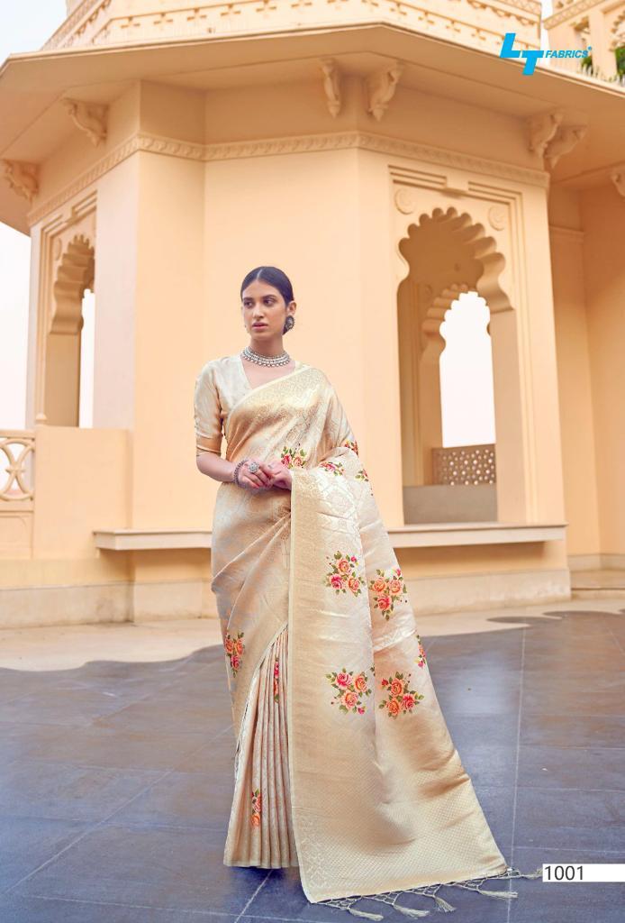 Lt Fabrics Sunehri Saree Sari Wholesale Catalog 10 Pcs 20 - Lt Fabrics Sunehri Saree Sari Wholesale Catalog 10 Pcs