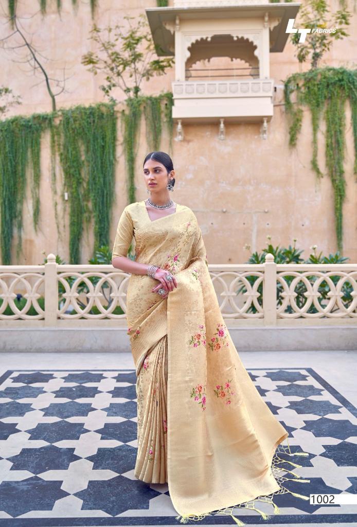 Lt Fabrics Sunehri Saree Sari Wholesale Catalog 10 Pcs 21 - Lt Fabrics Sunehri Saree Sari Wholesale Catalog 10 Pcs