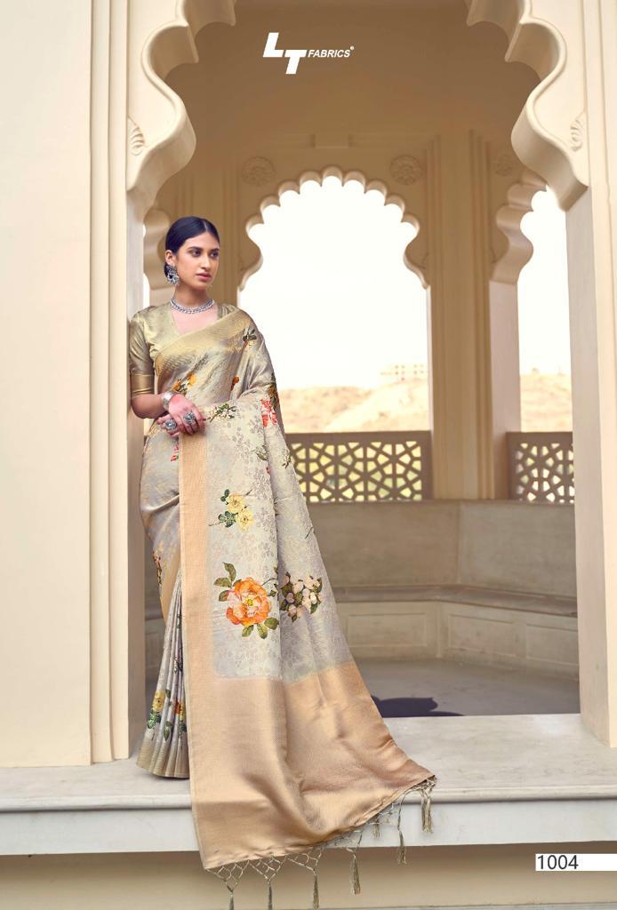 Lt Fabrics Sunehri Saree Sari Wholesale Catalog 10 Pcs 4 - Lt Fabrics Sunehri Saree Sari Wholesale Catalog 10 Pcs