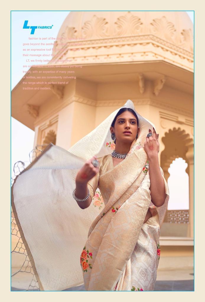 Lt Fabrics Sunehri Saree Sari Wholesale Catalog 10 Pcs 5 - Lt Fabrics Sunehri Saree Sari Wholesale Catalog 10 Pcs