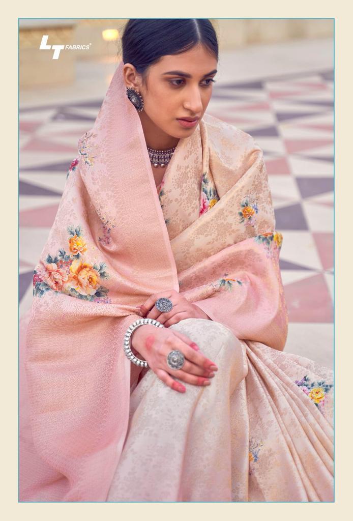 Lt Fabrics Sunehri Saree Sari Wholesale Catalog 10 Pcs 7 - Lt Fabrics Sunehri Saree Sari Wholesale Catalog 10 Pcs