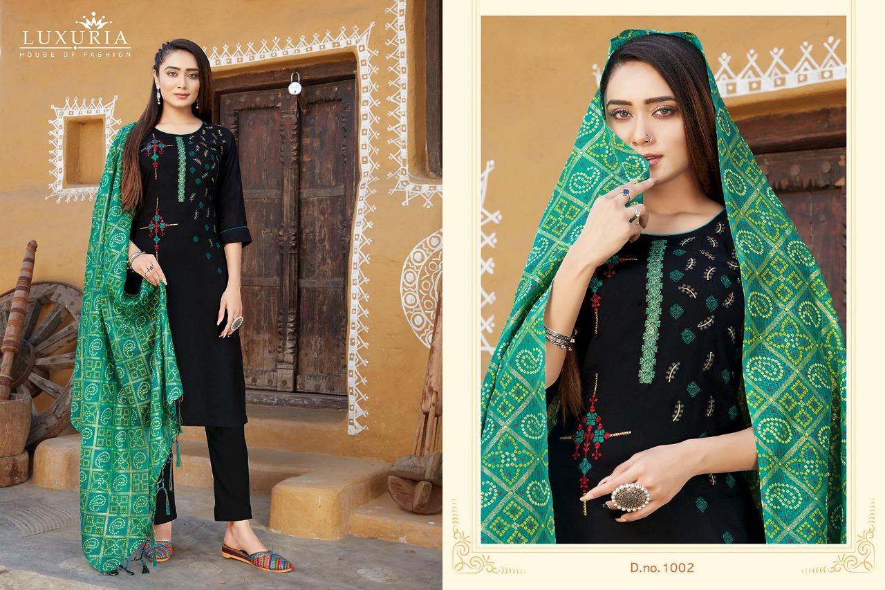 Luxuria Mannat Kurti with Dupatta Wholesale Catalog 4 Pcs 2 - Luxuria Mannat Kurti with Dupatta Wholesale Catalog 4 Pcs