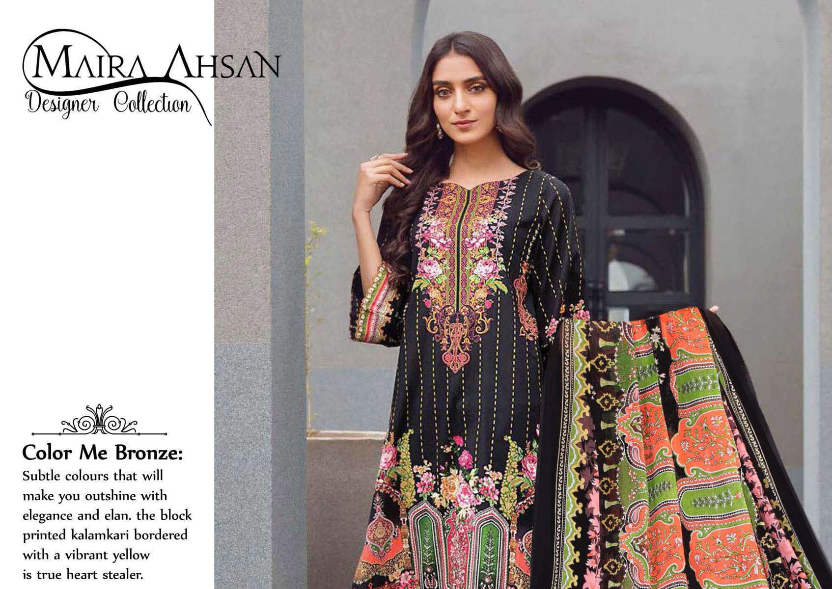 Maira Ahsan Designer Collection Vol 1 Salwar Suit Wholesale Catalog 10 Pcs 1 - Maira Ahsan Designer Collection Vol 1 Salwar Suit Wholesale Catalog 10 Pcs