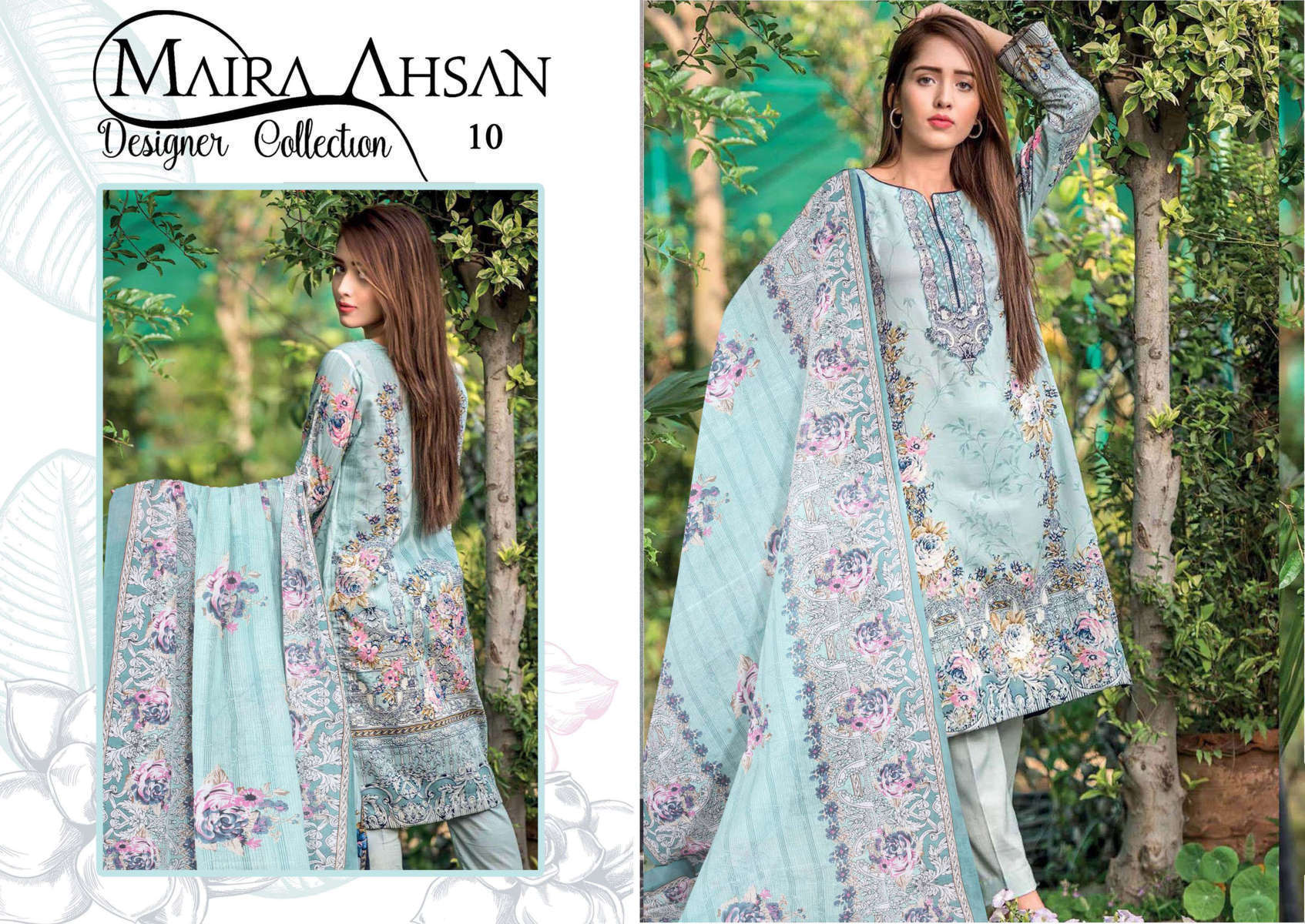 Maira Ahsan Designer Collection Vol 1 Salwar Suit Wholesale Catalog 10 Pcs 12 - Maira Ahsan Designer Collection Vol 1 Salwar Suit Wholesale Catalog 10 Pcs