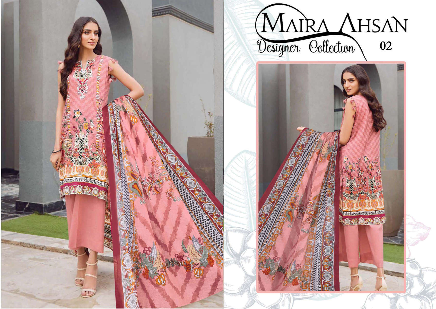 Maira Ahsan Designer Collection Vol 1 Salwar Suit Wholesale Catalog 10 Pcs 3 - Maira Ahsan Designer Collection Vol 1 Salwar Suit Wholesale Catalog 10 Pcs