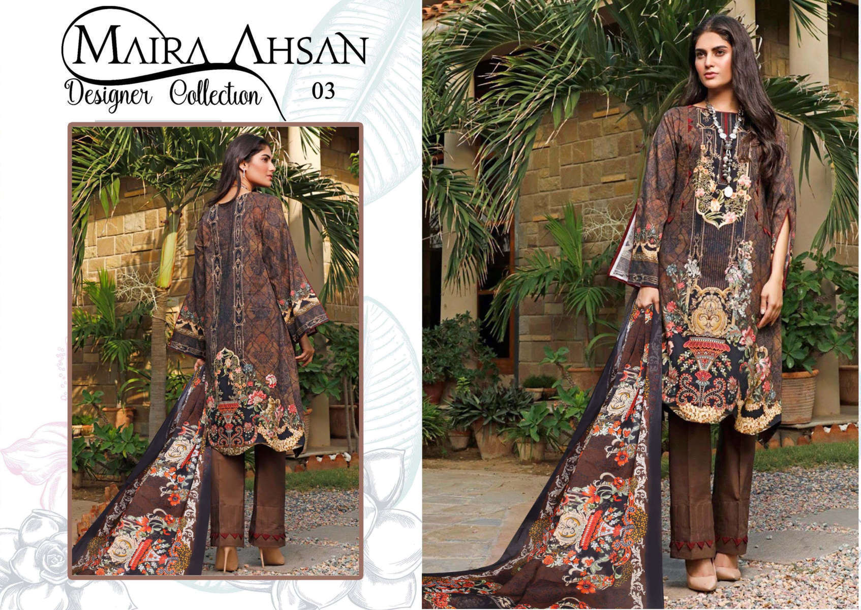 Maira Ahsan Designer Collection Vol 1 Salwar Suit Wholesale Catalog 10 Pcs 4 - Maira Ahsan Designer Collection Vol 1 Salwar Suit Wholesale Catalog 10 Pcs