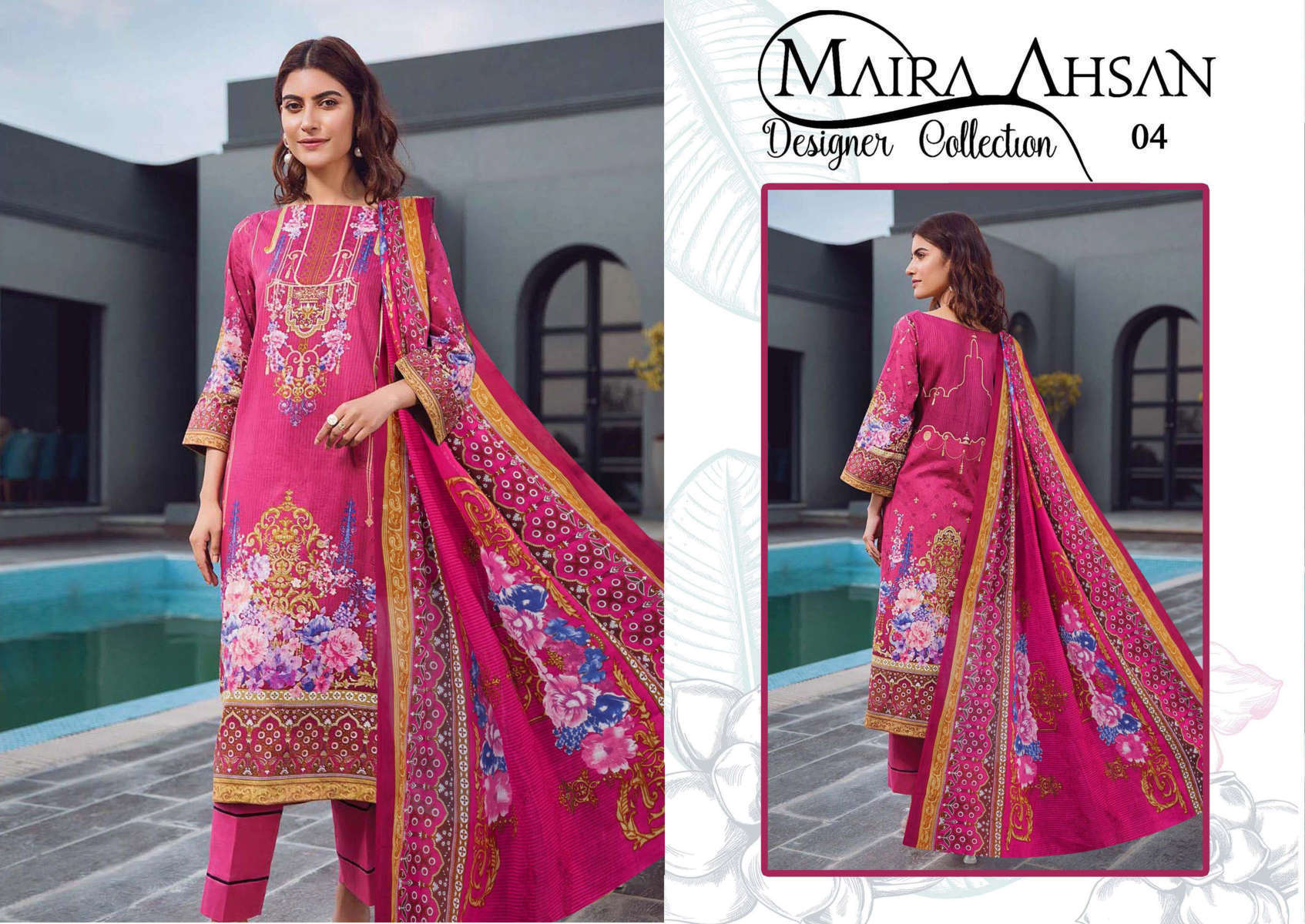 Maira Ahsan Designer Collection Vol 1 Salwar Suit Wholesale Catalog 10 Pcs 5 - Maira Ahsan Designer Collection Vol 1 Salwar Suit Wholesale Catalog 10 Pcs